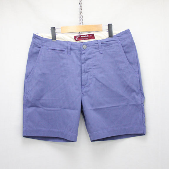 HIDE&SEEK Herringbone Shorts (16ss):BLUE