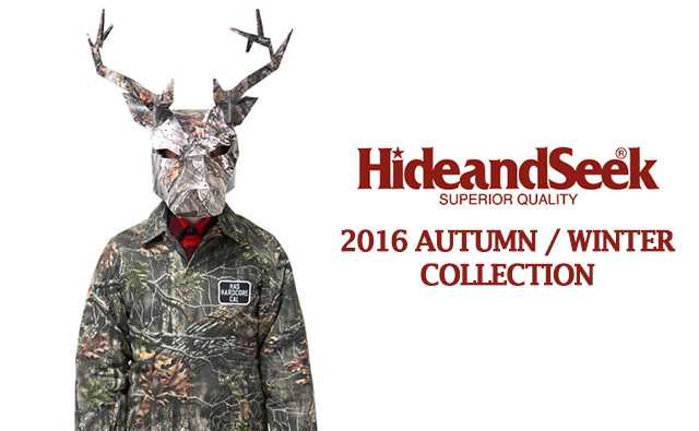 Hide&Seek ハイドアンドシーク 2016秋冬 着こなし・コーデ カタログ 全14スタイル公開!