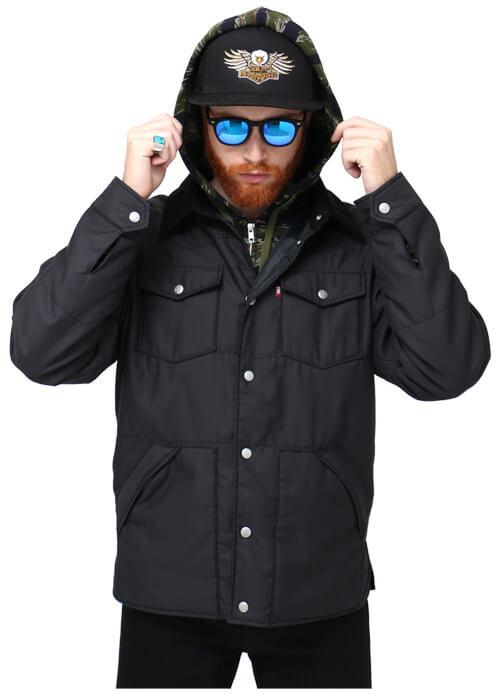 HIDE&SEEK(ハイドアンドシーク)2016年秋冬コレクション 黒ジャケット コーデ