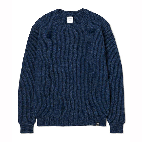 BEDWIN C-NECK KNIT SWEATER