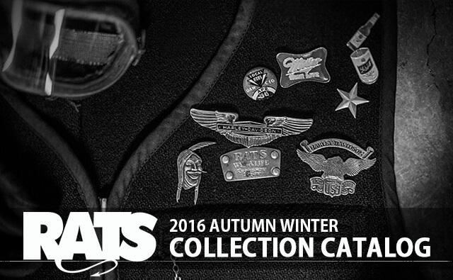RATS 2016年秋冬コレクションコーディネート lookbook カタログ