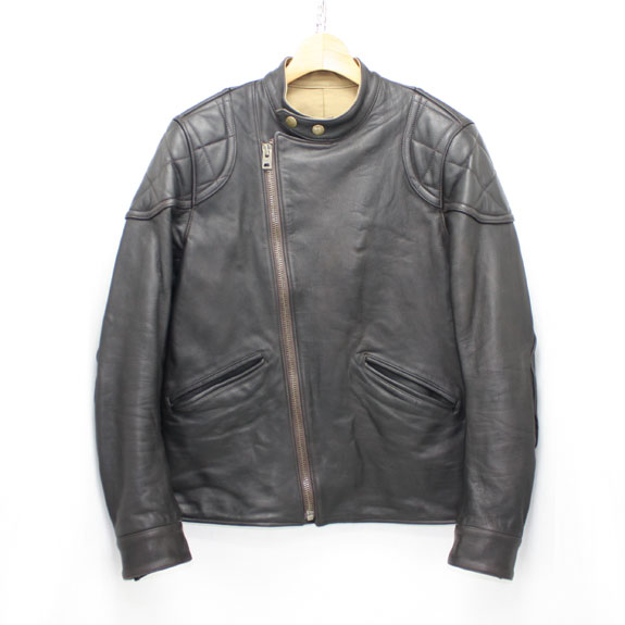 RATS SINGLE RIDERS LEATHER JKT:BLACK