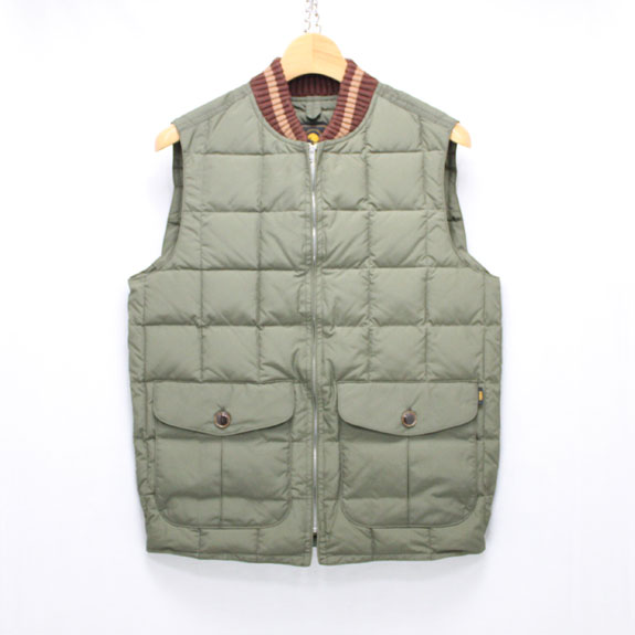 RATS DOWN VEST:BROWN