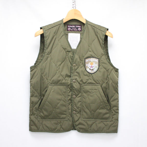 SOFT MACHINE IN.N.OUT VEST:OLIVE