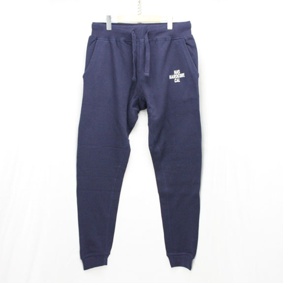 HIDE&SEEK HARD CORE CAL Sweat Pants:NAVY