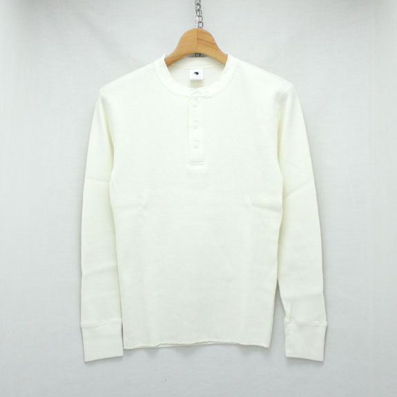 RATS HENLEY-NECK THERMAL:WHITE