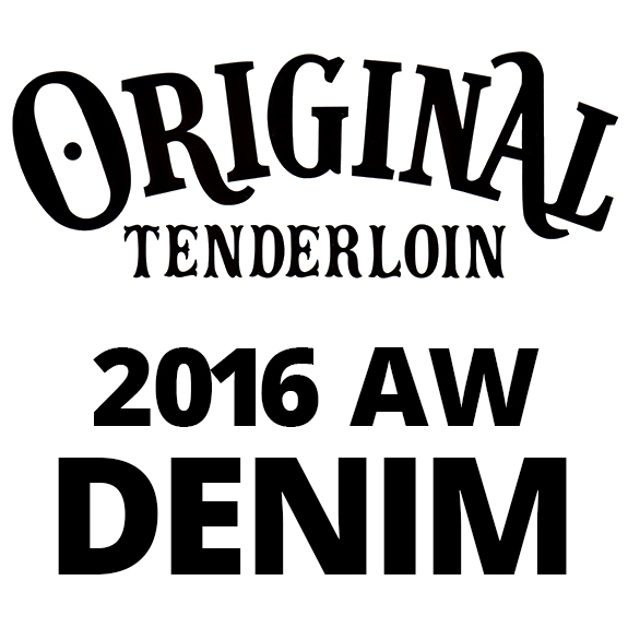 TENDERLOIN T-PAINTER PNT DENIMん