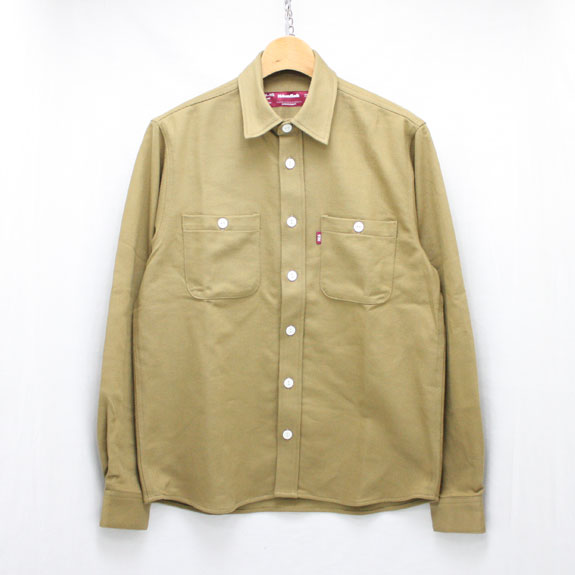 HIDE&SEEK Fatigue L/S Shirt (16aw):KHAKI