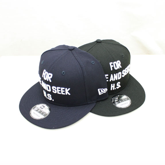 HIDE&SEEK NEW ERA CAP-2 (16aw)