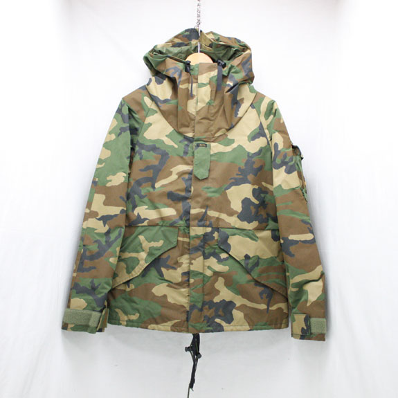 RATS MILITARY FOOD PARKA:CAMOFLAGE