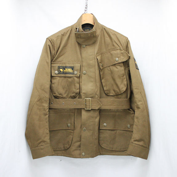 RATS OILED MC JKT:BROWN