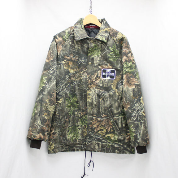 HIDE&SEEK HARD CORE CAL TEAM JKT:REAL TREE CAMO