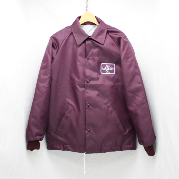 HIDE&SEEK HARD CORE CAL TEAM JKT:BURGUNDY