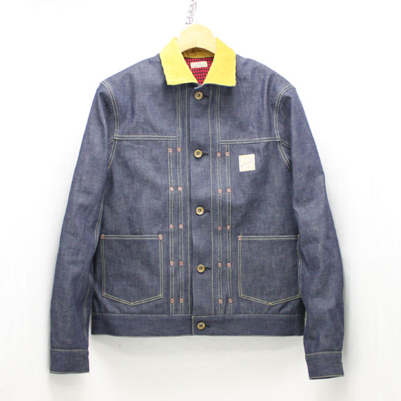 BELAFONTE RAGTIME DENIM JACKET with LINING:10.5oz INDIGO DENIM
