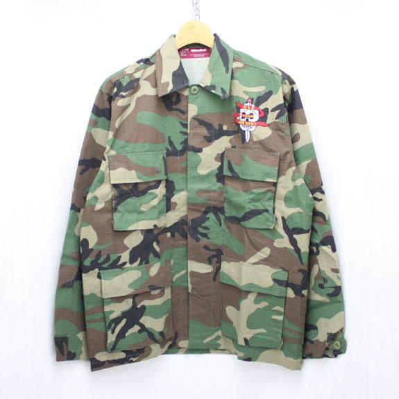 HIDE&SEEK Souvenir JKT (Military JKT):CAMO