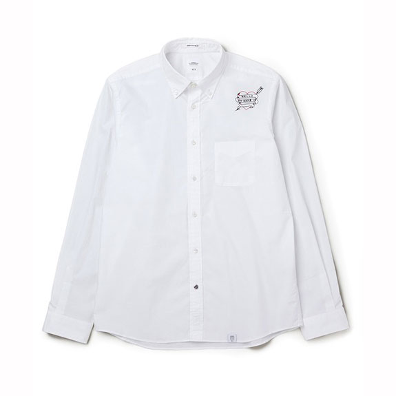 BEDWIN L/S OX B.D EMBROIDERY SHIRT