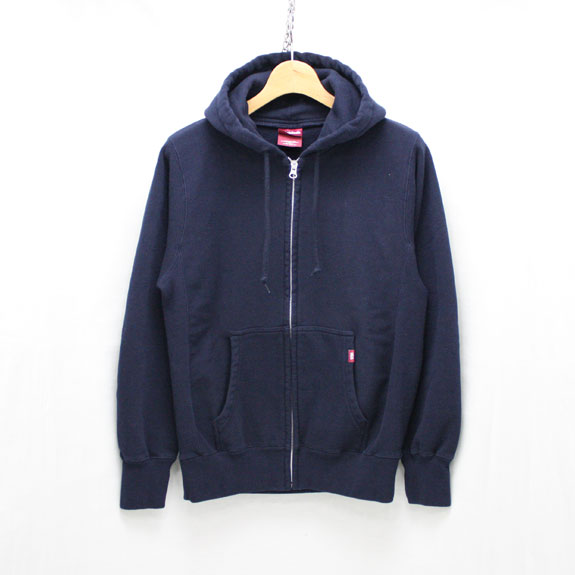 HIDE&SEEK Eagle Zip Parka:NAVY