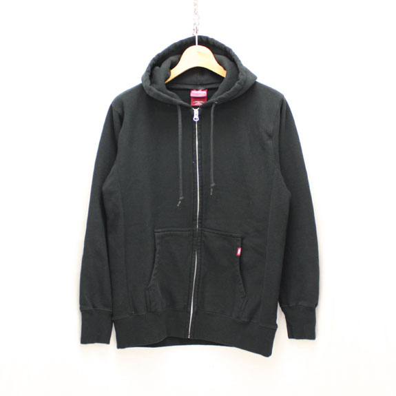 HIDE&SEEK Eagle Zip Parka:BLACK