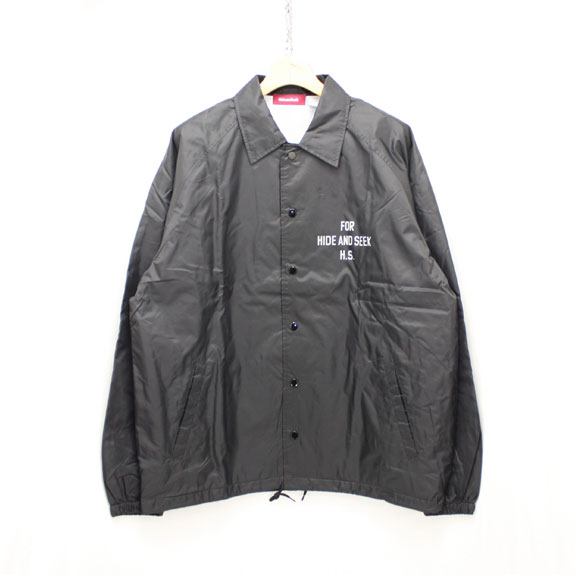 HIDE&SEEK H&S×OSC Team JKT:BLACK