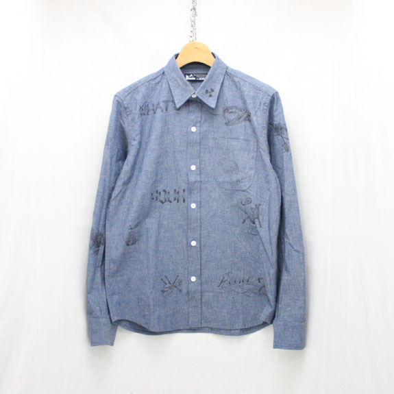 SOFT MACHINE POISON CHAMBRAY:BLUE