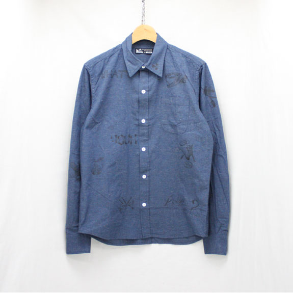 SOFT MACHINE POISON CHAMBRAY:DARK BLUE
