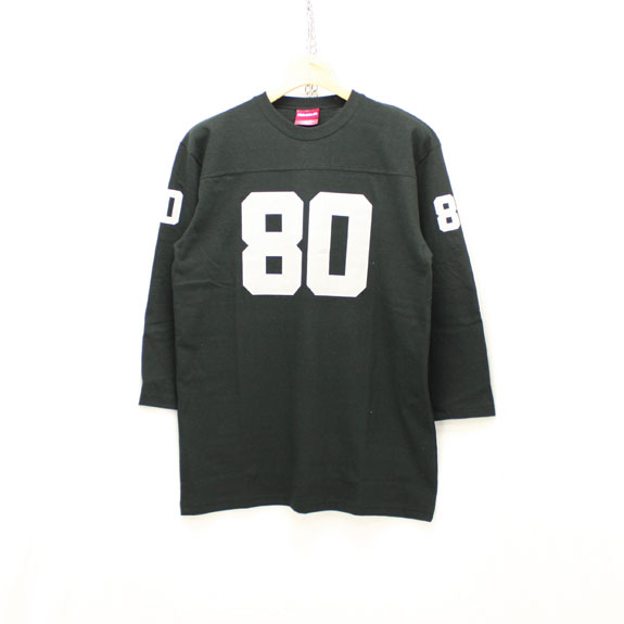 HIDE&SEEK Football Shirts (17ss):BLACK