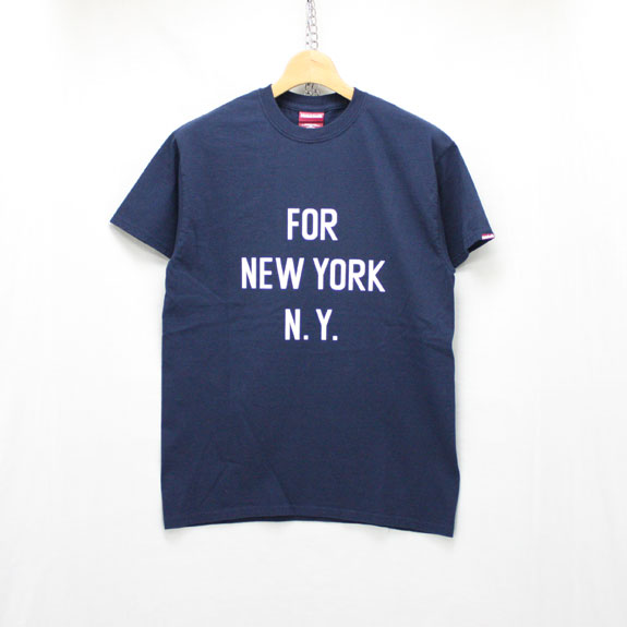 HIDE&SEEK CITY S/S Tee:NAVY