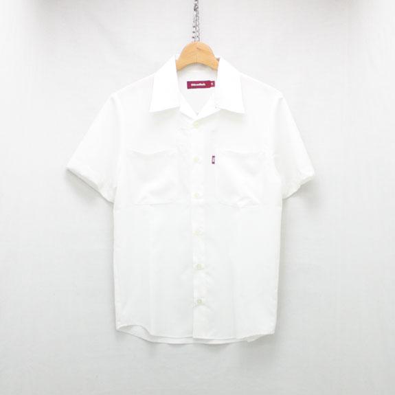 HIDE&SEEK Bowling Shirts(17ss):WHITE