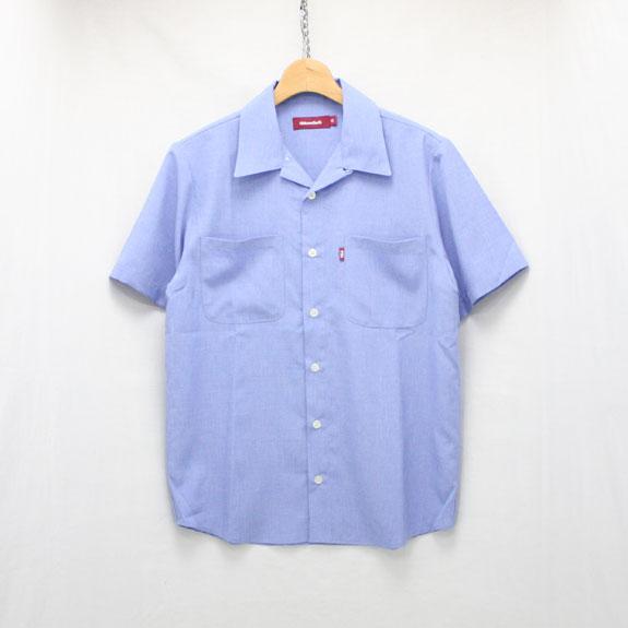 HIDE&SEEK Bowling Shirts(17ss):BLUE