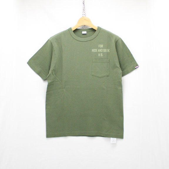 HIDE&SEEK For HS Pocket S/S Tee (Healthknit):O D