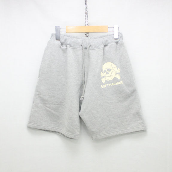 SOFT MACHINE ADAM HEAD SHORTS:GRAY