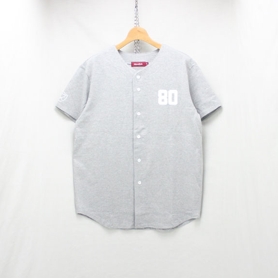 HIDE&SEEK Baseball Shirts:H-GRAY