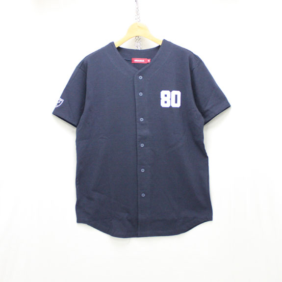 HIDE&SEEK Baseball Shirts:NAVY