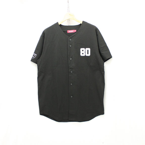 HIDE&SEEK Baseball Shirts:BLACK