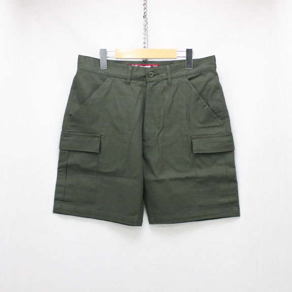 HIDE&SEEK Fatigue 6P Shorts (17ss-SOLID):O D