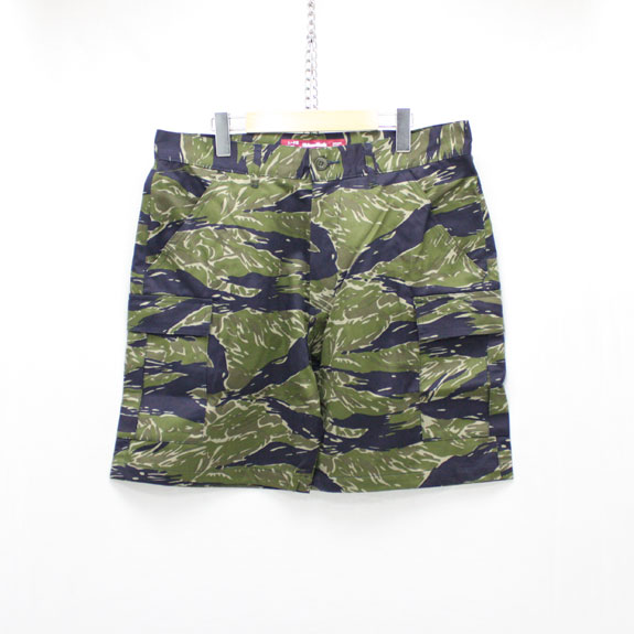 HIDE&SEEK Fatigue 6P Shorts (17ss-CAMO):TIGER CAMO