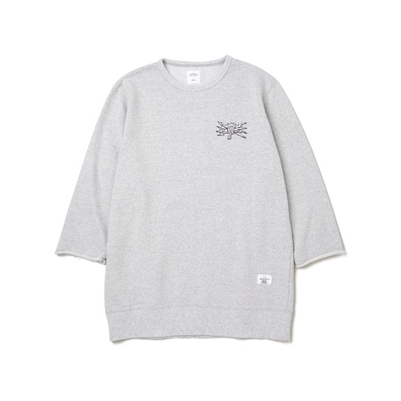 BEDWIN 7/S C-NECK SWEAT