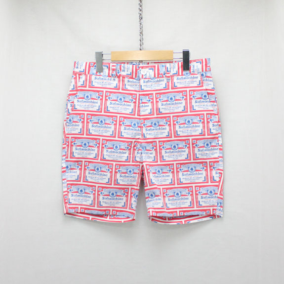 SOFT MACHINE HANG OVER SHORTS:WHITE