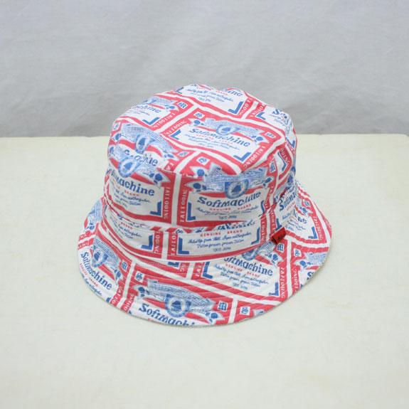 SOFT MACHINE HANG OVER HAT:WHITE
