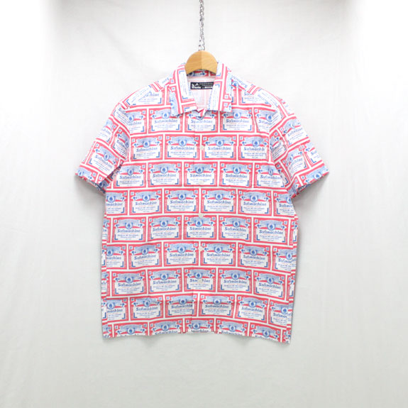 SOFT MACHINE HANG OVER SHIRTS S/S:WHITE