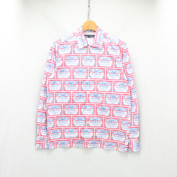 SOFT MACHINE HANG OVER SHIRTS L/S:WHITE