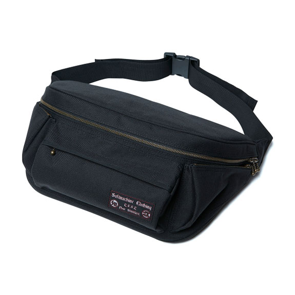 SOFT MACHINE SMAGGLER BAG:BLACK