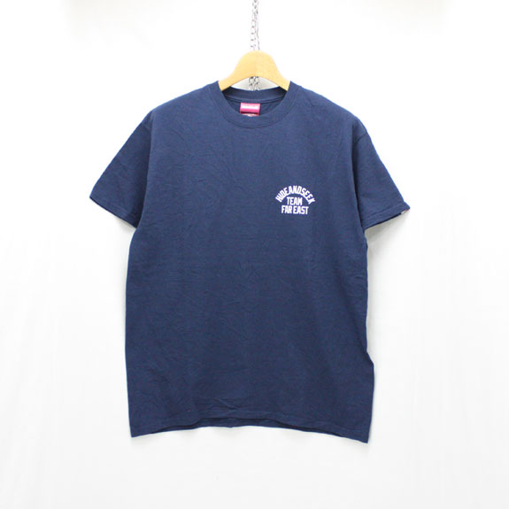 HIDE&SEEK TEAM FAR EAST S/S Tee:NAVY