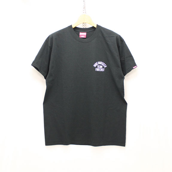 HIDE&SEEK TEAM FAR EAST S/S Tee:BLACK