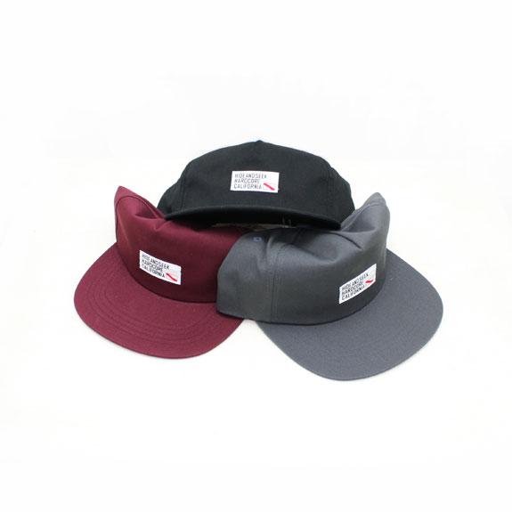 HIDE&SEEK TAG WORK CAP (17aw)