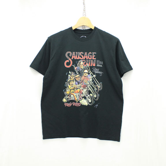 RATS SAUSAGE RUN 5TH T-SHIRT:BLACK
