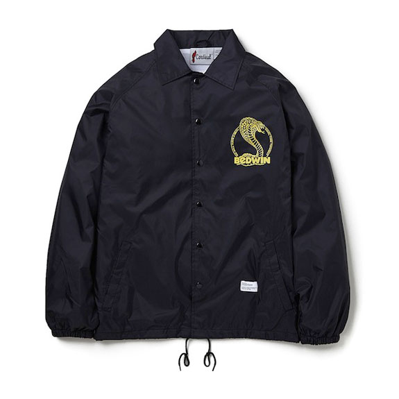 BEDWIN L/S COACH JACKET JILL:BLACK