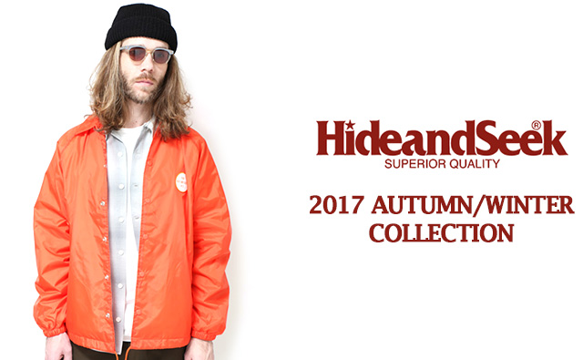 HIDE&SEEK2017年秋冬コレクションコーディネート lookbook カタログ