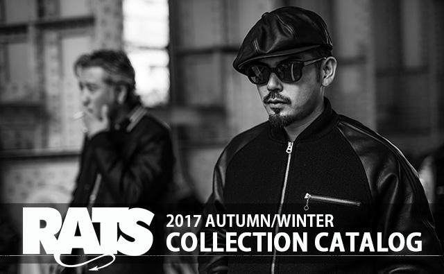 RATS ラッツ 2017 秋冬 コレクション カタログ