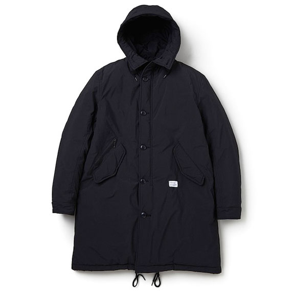 BEDWIN TYPE M-48 MILITARY PARKA CHASE:BLACK